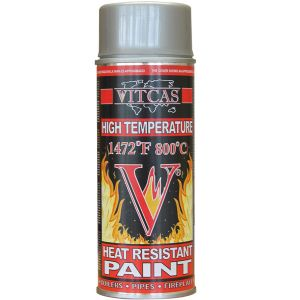 Heat Resistant Spray Paint Silver
