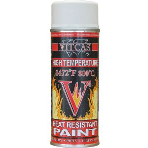 Heat proof paint white
