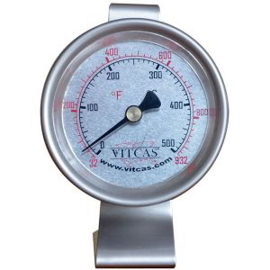 Pizza-Bread Oven Thermometer