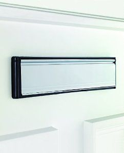 Welseal Upvc or Wooden Door Letter Box 10\  . & Welseal Upvc or Wooden Door Letter Box 10